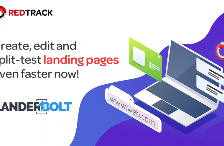 redtrack landing page