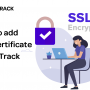 How to add SSL Certificate in RedTrack