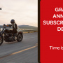 Grand Annual Subscriptions Deal:  save money with RedTrack