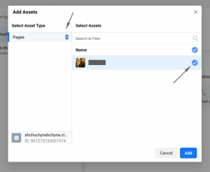 step 6 - associate domain with your page